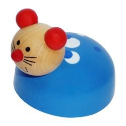 IMP-EX Drevená hračka na zotrvačník - Myška