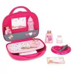 SMOBY Baby Nurse kufrík s doplnkami pre bábiky Zlatá edícia