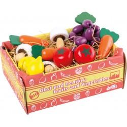 Detská prepravka so zeleninou