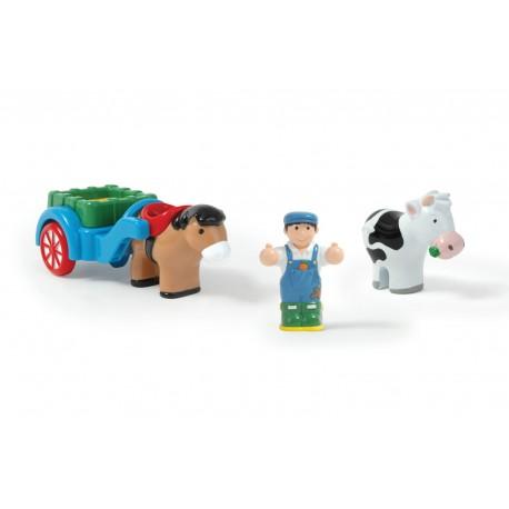 WOW - Farmár s vozíkom