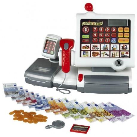 Detská elektronická pokladňa s čítačkou kódov KLEIN