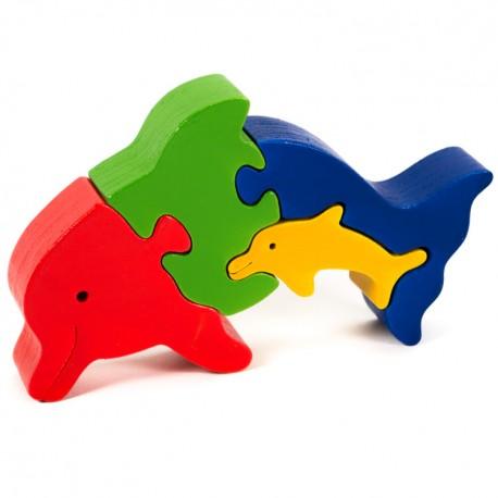 Puzzo 3D puzzle - delfíny
