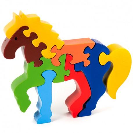 Puzzo 3D puzzle - koník veľký
