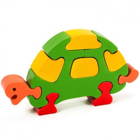 Puzzo 3D puzzle - korytnačka