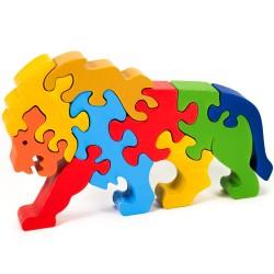 Puzzo 3D puzzle - lev veľký