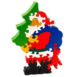 Puzzo 3D puzzle - Mikuláš so stromčekom