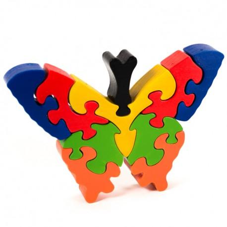 Puzzo 3D puzzle - motýľ