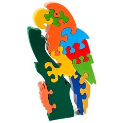 Puzzo 3D puzzle - papagáj veľký