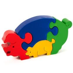 Puzzo 3D puzzle - prasiatka