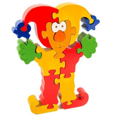 Puzzo 3D puzzle - šašo červený