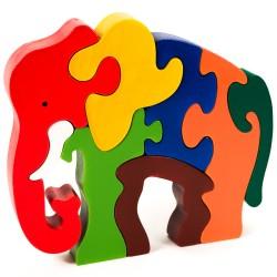 Puzzo 3D puzzle - Slon veľký