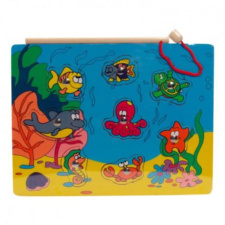 VIGA Magnetické puzzle - chobotnica a jej kamaráti
