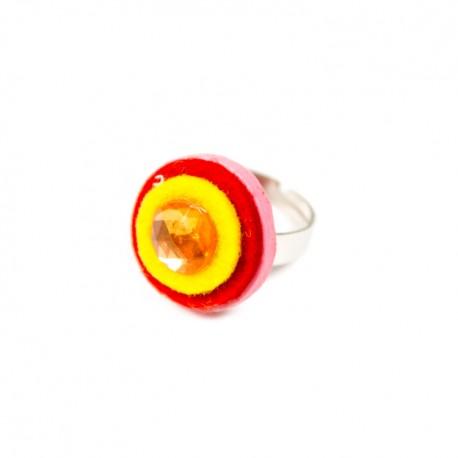 Detský prsteň - krúžok ružový