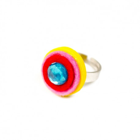 Detský prsteň - krúžok žltý