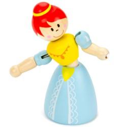 IMP-EX Drevená ohybná figúrka - Princezná