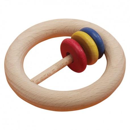IMP-EX Drevený krúžok do ruky s gorálkami - vel'ký