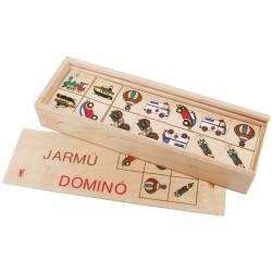 Drevené domino - Dopravné prostriedky II.
