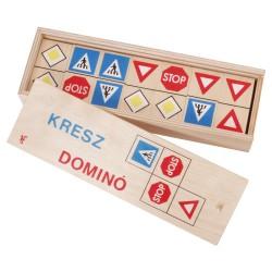 Drevené domino - Dopravné značky