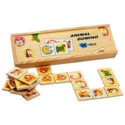 Drevené domino - Zvieratká II.