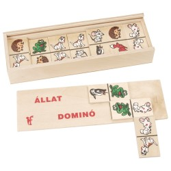 Drevené domino - Zvieratká III.