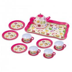 PLAY GO Detská čajová súprava - makarónky