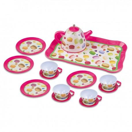 Detská čajová súprava - makarónky