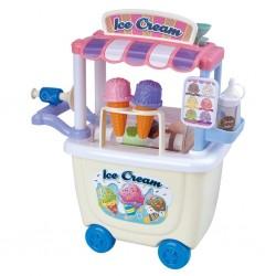 PLAY GO Detský predajný stánok na kolieskach Gourmet Ice Cream