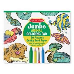 Jumbo vymaľovanka – Zvieratká