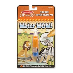 Magický štetec – Safari – Water WOW - Melissa & Dough