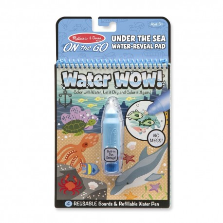 Magická omaľovánka – VODNÝ SVET WATER WOW