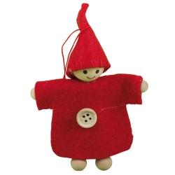 IMP-EX Ozdoba na vianočný stromček - červený chlapček