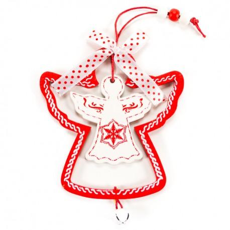 Ozdoba na vianočný stromček - anjelik