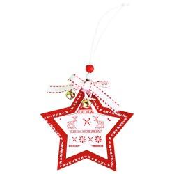Ozdoba na vianočný stromček - hviezda