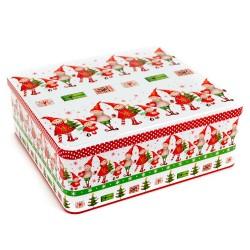 Vianočná plechová dóza 23,5 x 8,5 x 22 cm
