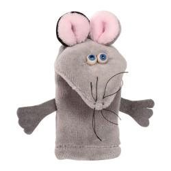 Prstová plyšová maňuška - Myška