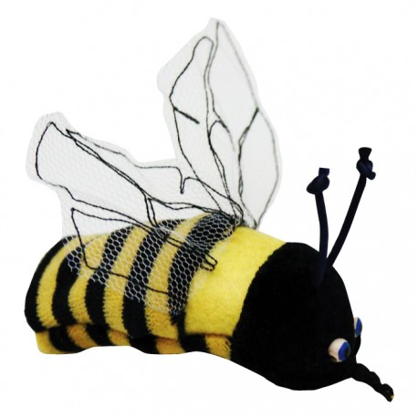Prstová plyšová maňuška - Včielka