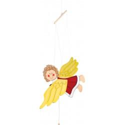 Závesná dekorácia - lietajúci anjel