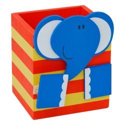 Drevený stojan na ceruzky - sloník