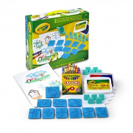 Crayola Detský set s pečiatkami - Farma