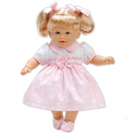 LOKO Bábika s vlasmi - 39 cm-ová