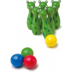 Drevené kolky - Žabky