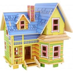 Legler drevené 3D puzzle skladačka - Amelia domček pre bábiky