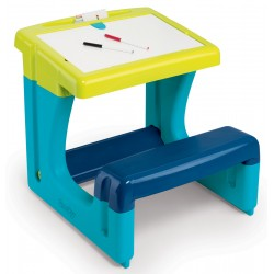 SMOBY Detský písací stolík - modrý