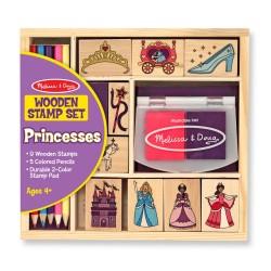 Melissa & Doug Detské pečiatky s farbičkami - Princezné