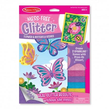 Trblietavé nálepky – Motýle