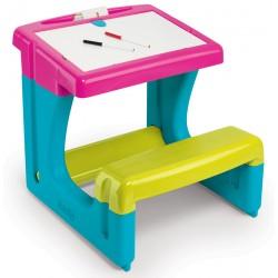 SMOBY Detský písací stolík NEW 2017 - ružový
