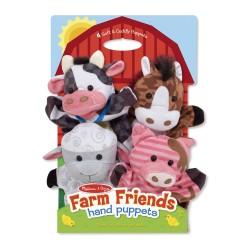 Plyšové maňušky - zvieratká na farme