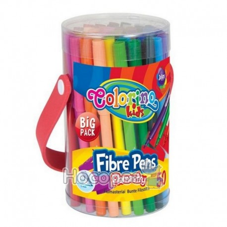 Colorino farebné tenké fixky Big Pack 50 ks