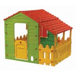 Detský domček Farm House Starplast s plotom a strechou od 2 rokov