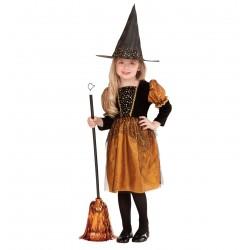 Detský karnevalový kostým - Bosorka veľ. 116 cm